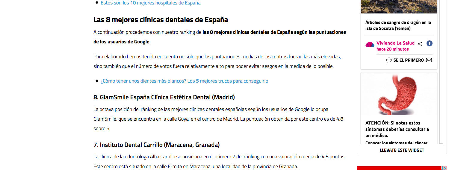 Dental carrillo dentistas maracena instituto dental - Clinicas dentales granada ...